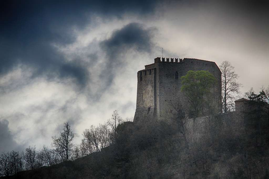 castello nuvole